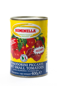 Hot small tomatoes